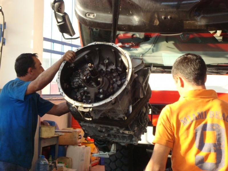 Ремонт на скоростни кутии и съединители